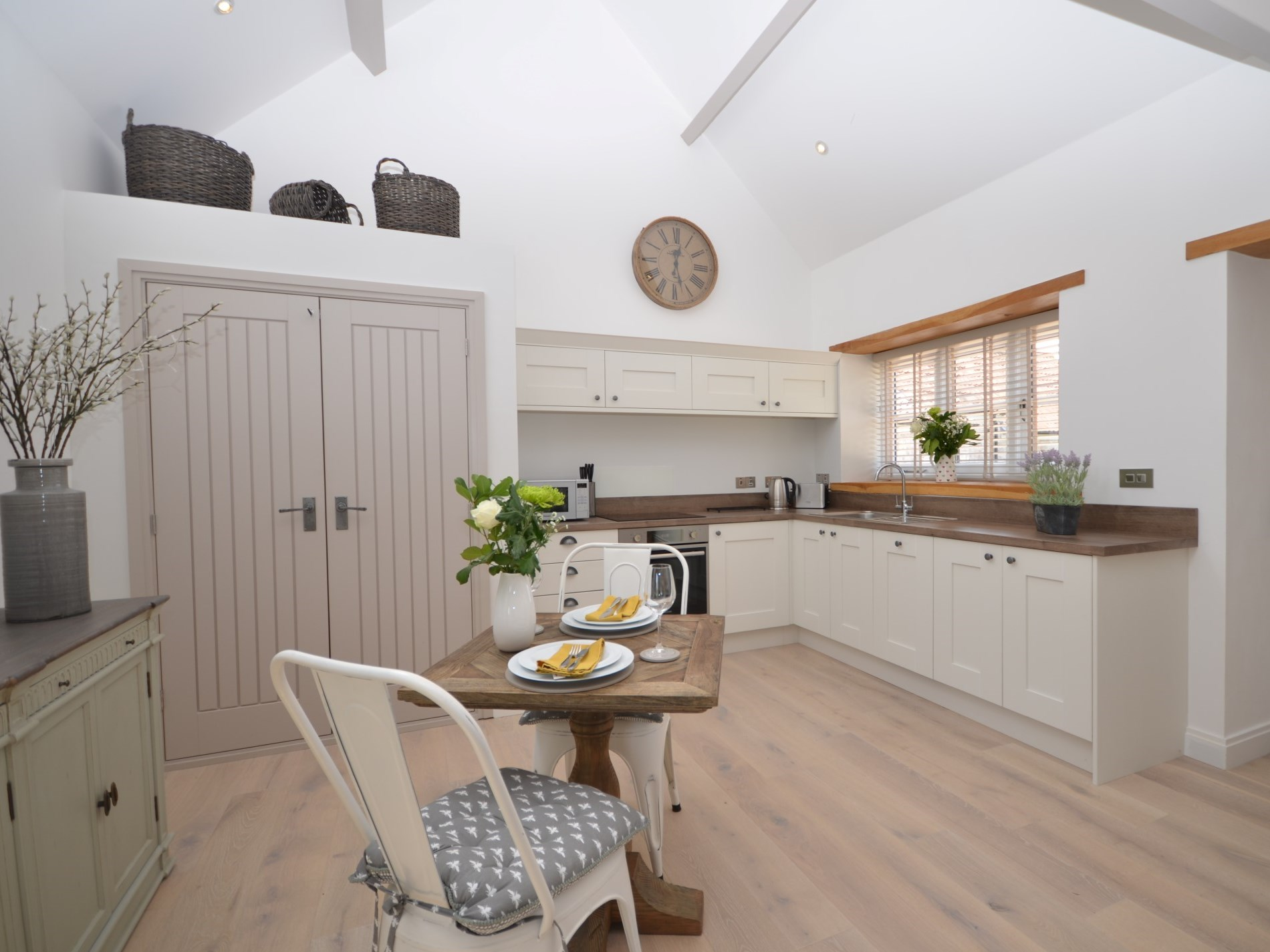 Beautifully presented kitchen