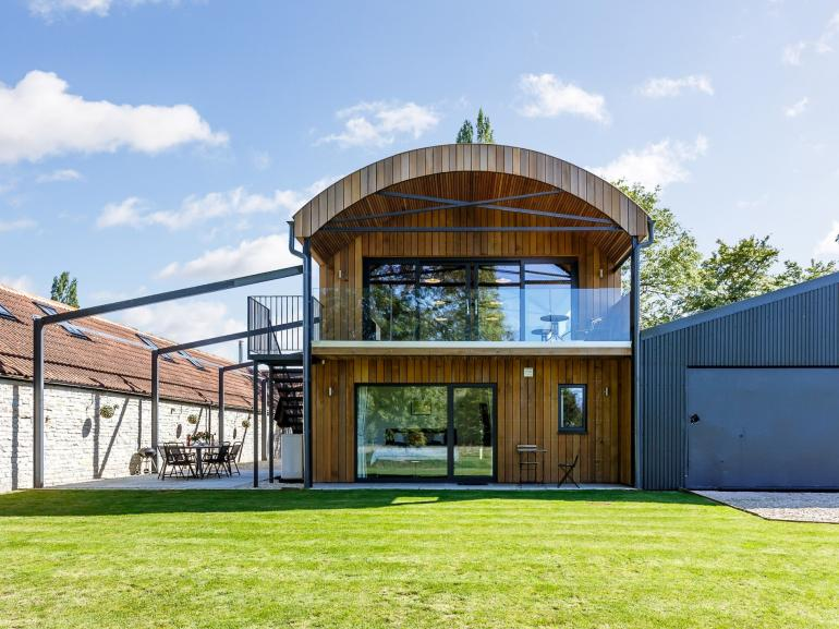 Magnificent barn conversion situated within five acres of land