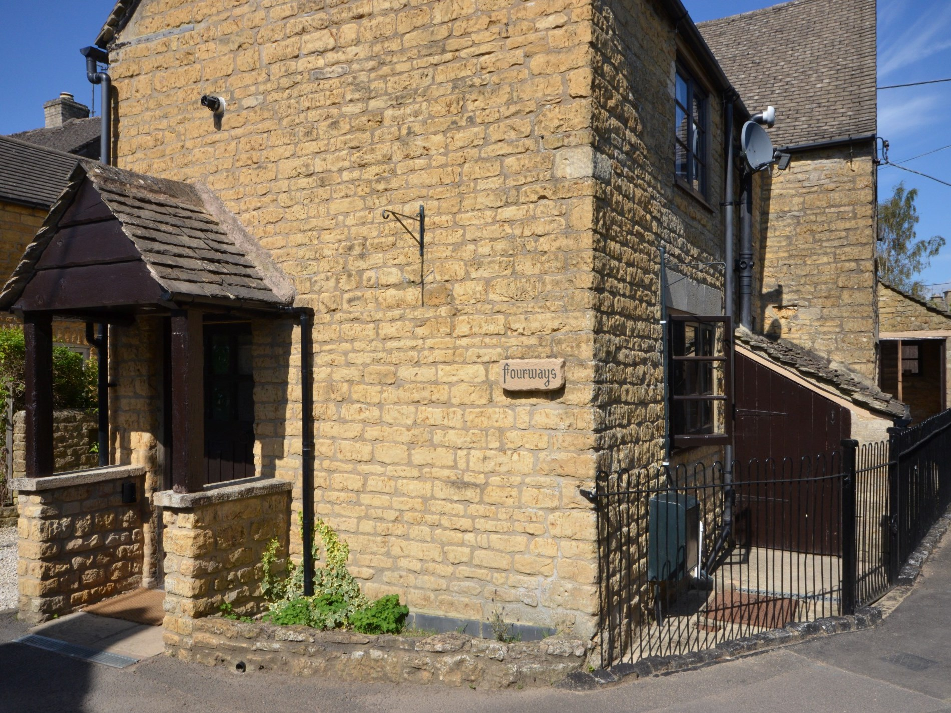 Property is nestled in the quiet back waters of Bourton on the Water