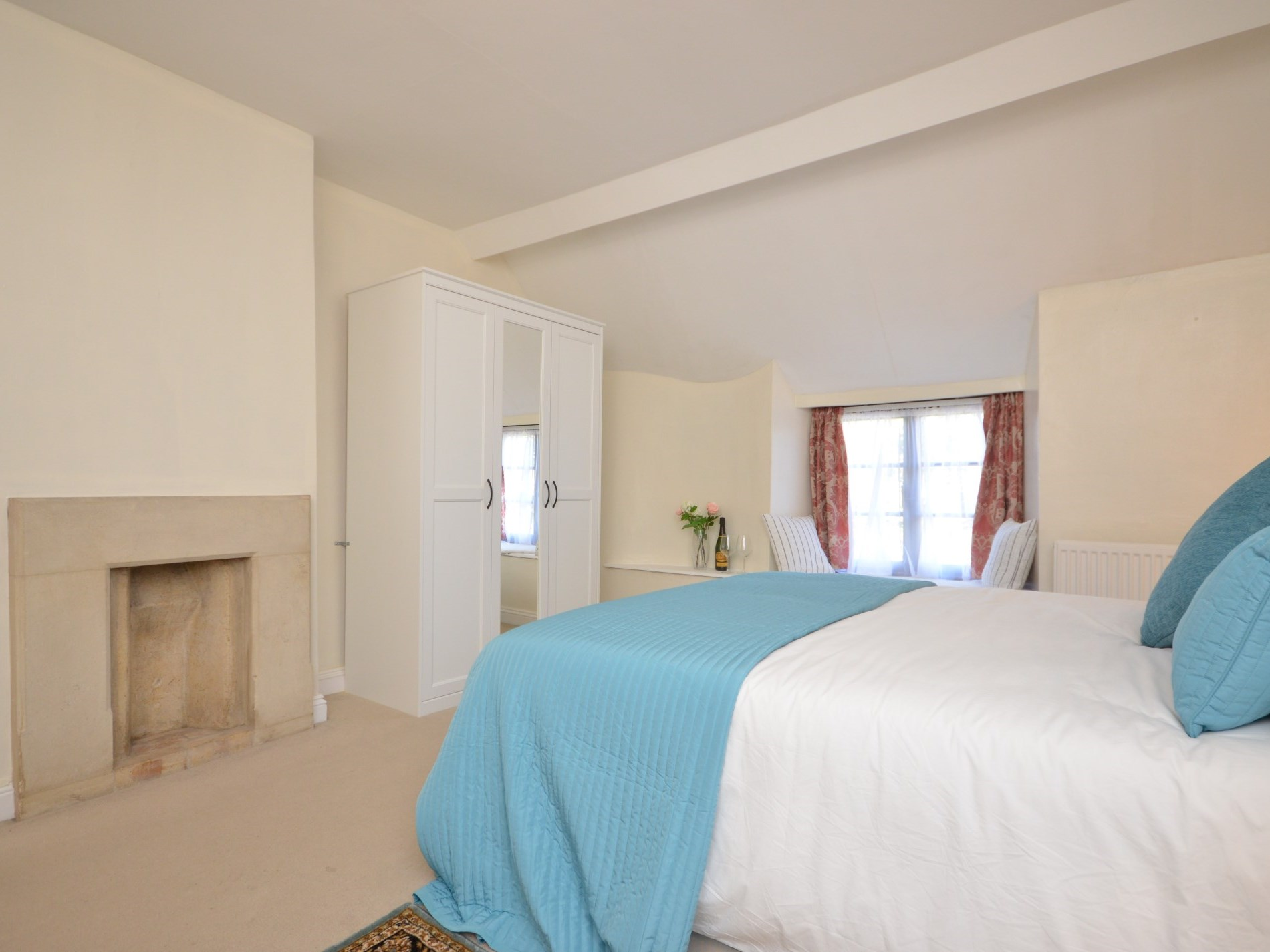 Large super king sized bedroom