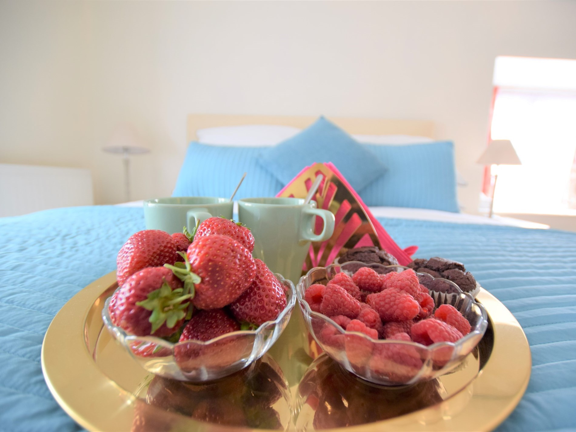 Relax with breakfast in bed