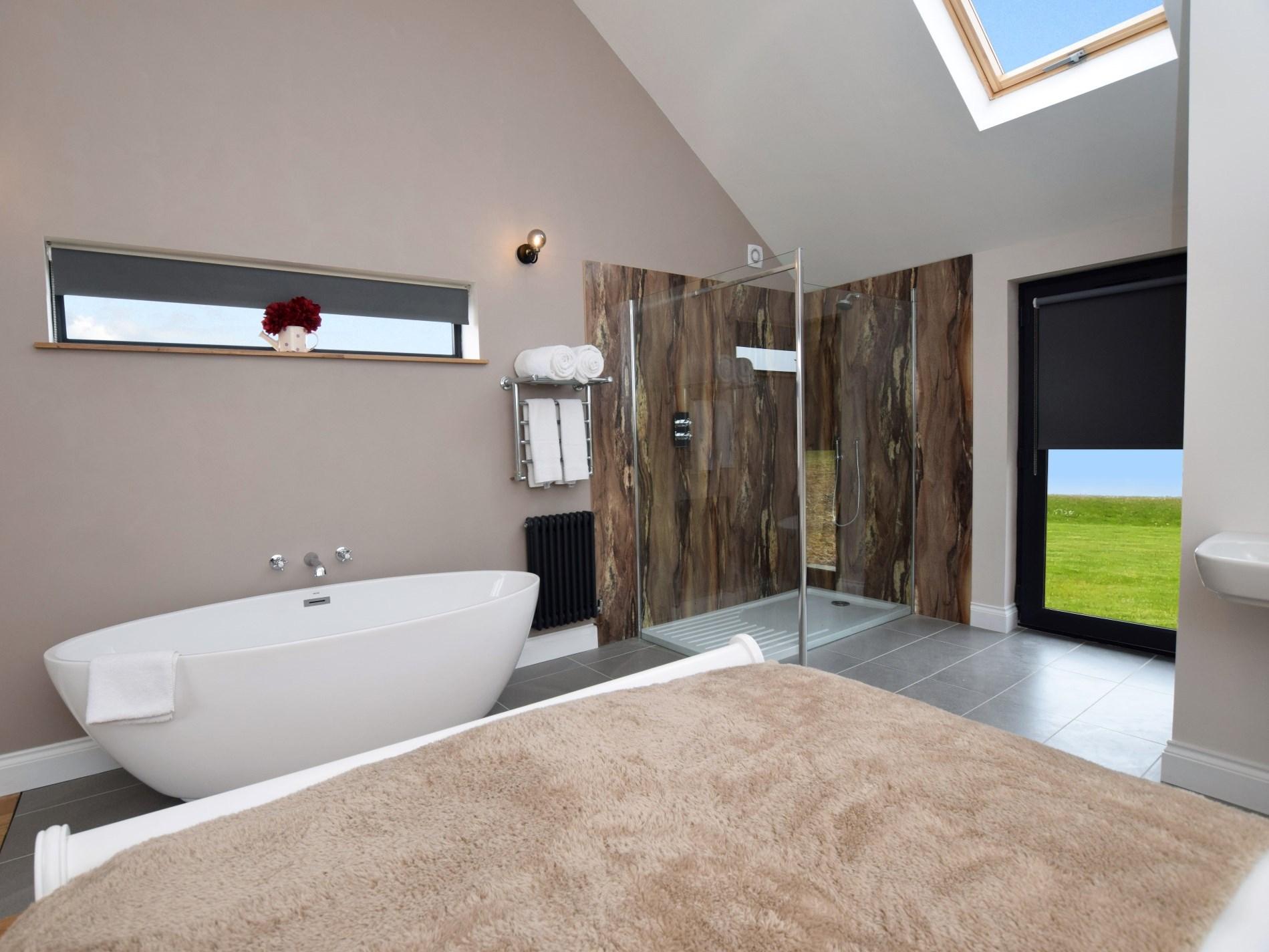 Take a relaxing bath of refreshing shower