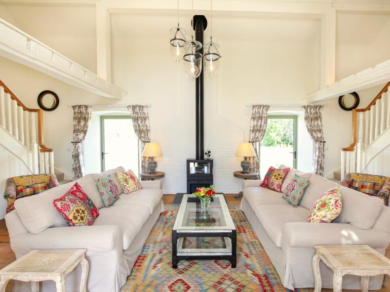 Elegant and bright lounge