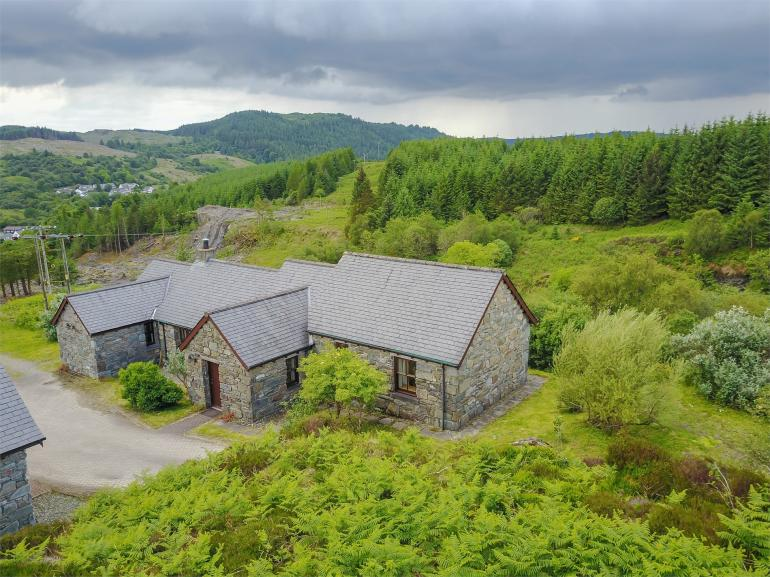 The property is one of two in a fantastically secluded location