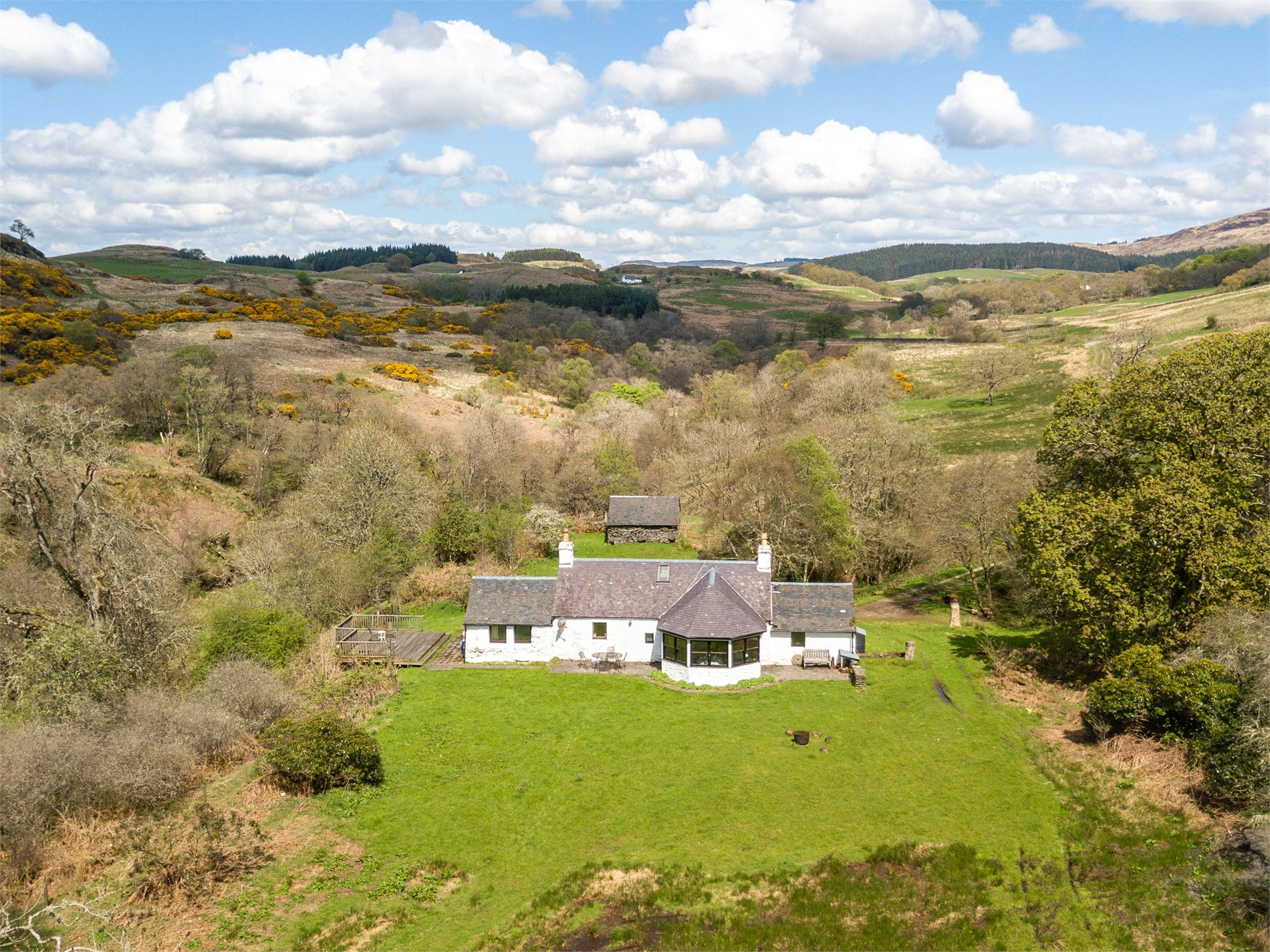 3 Bedroom Cottage in Tighnabruaich, Argyll & The Isles