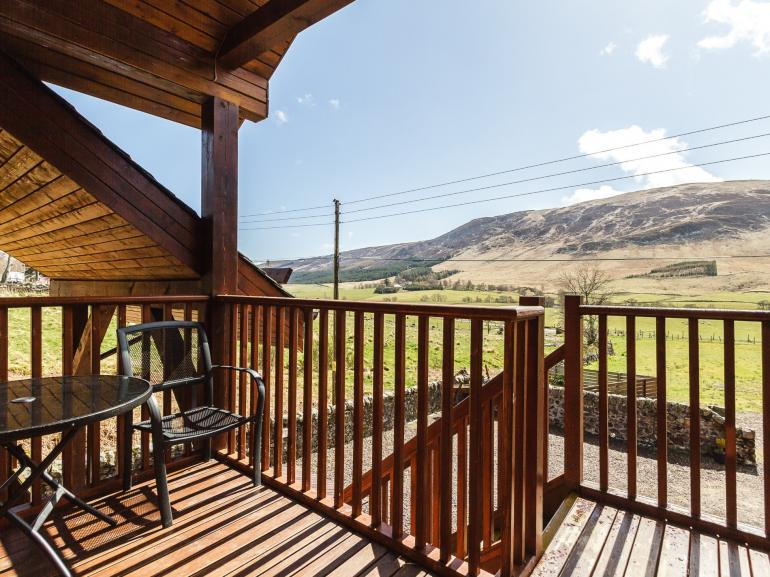 Outstanding views to take in from the lodge