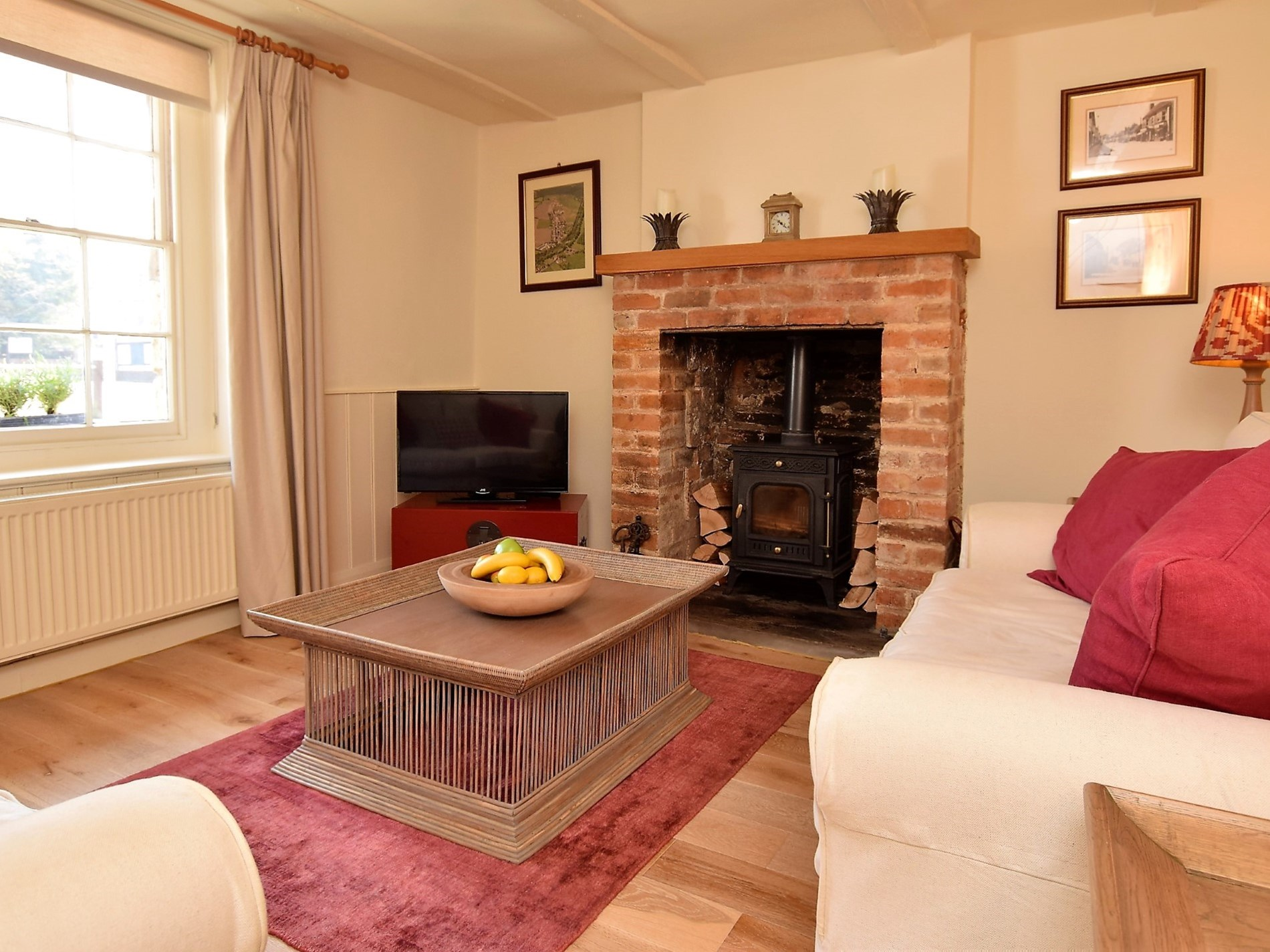 A relaxing cosy lounge