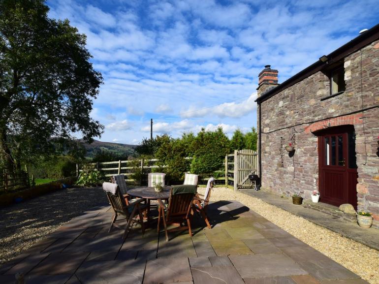 A pretty stone cottage