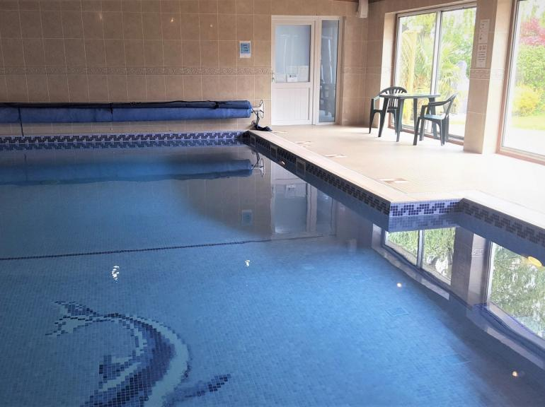 Alloted access to the indoor heated swimming pool, perfect for some fun