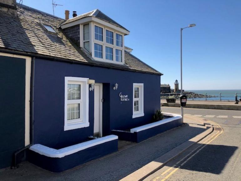 Views towards this charming harbourside period property