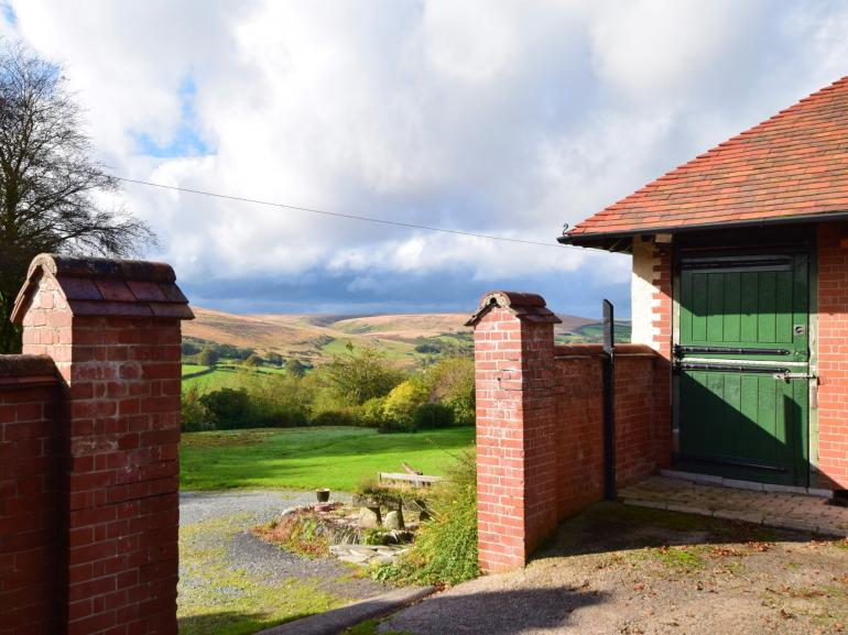 Remarkable views of Exmoor from the property