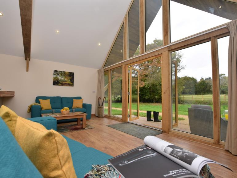 Sit back, relax, and enjoy the wonderful views of the Hampshire countryside