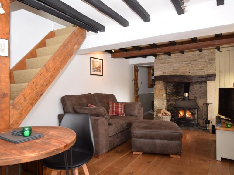 Cosy cottage brimming with character