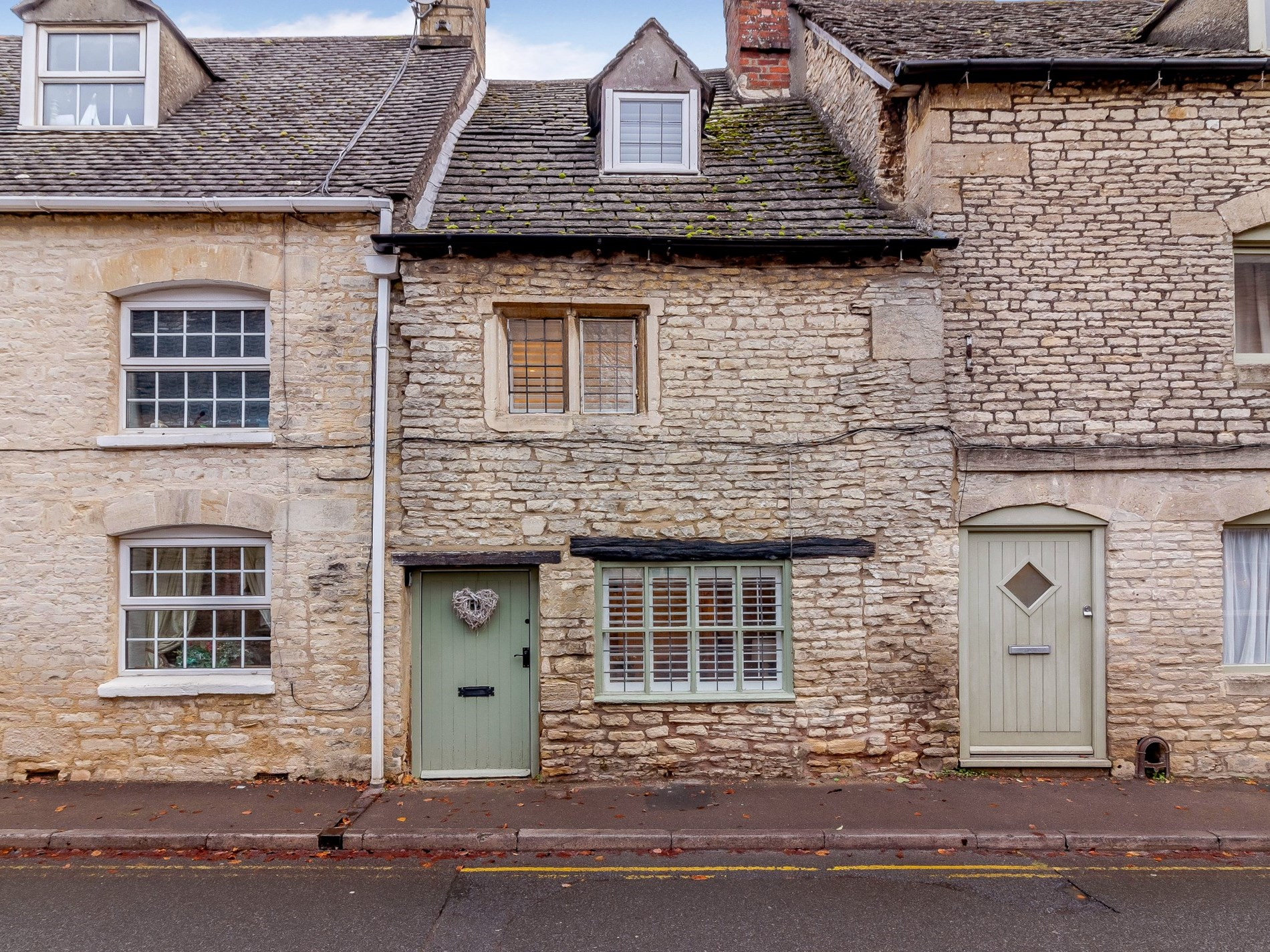 Traditional stone Cotswold cottage