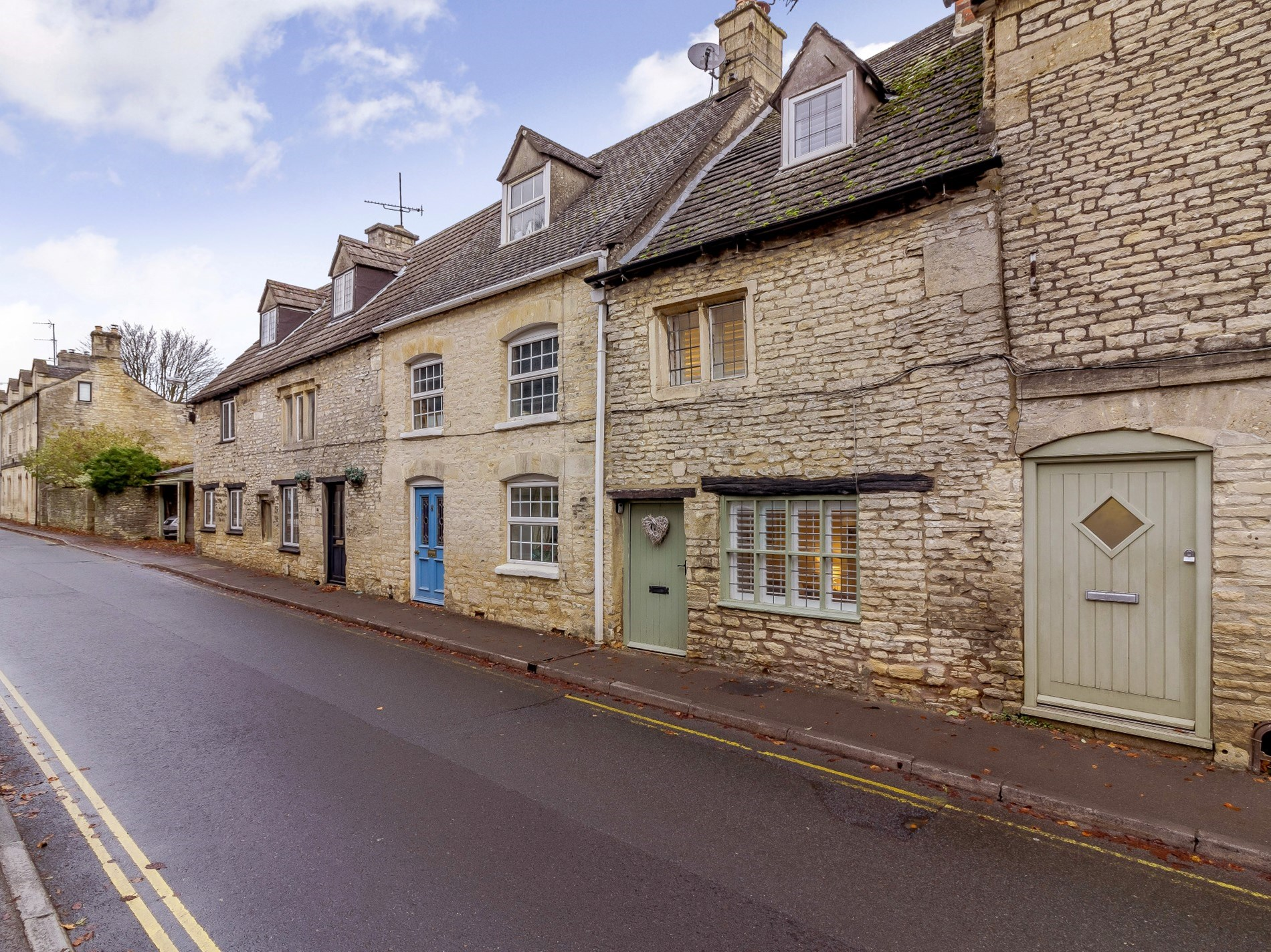 Set within the heart of a Cotswold village