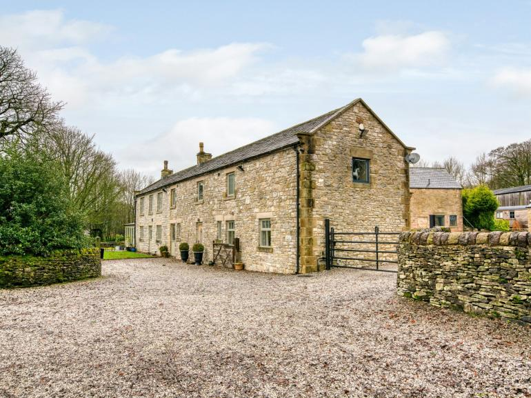 A stunning detached country farmhouse