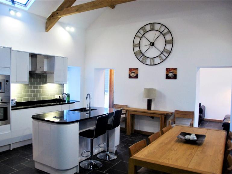 This wonderful lounge/kitchen/diner is the real heart of the home to enjoy with friends and family