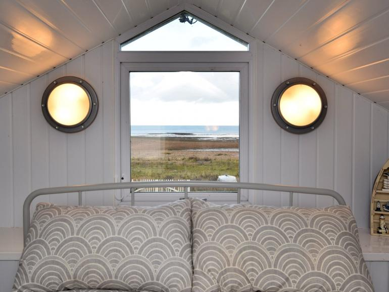 Family bedroom with stunning sea views