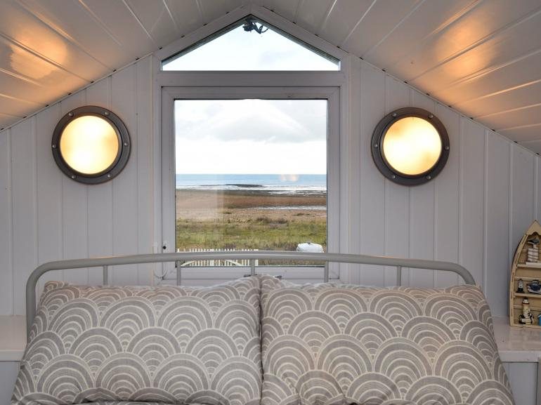 Stunning views from family bedroom