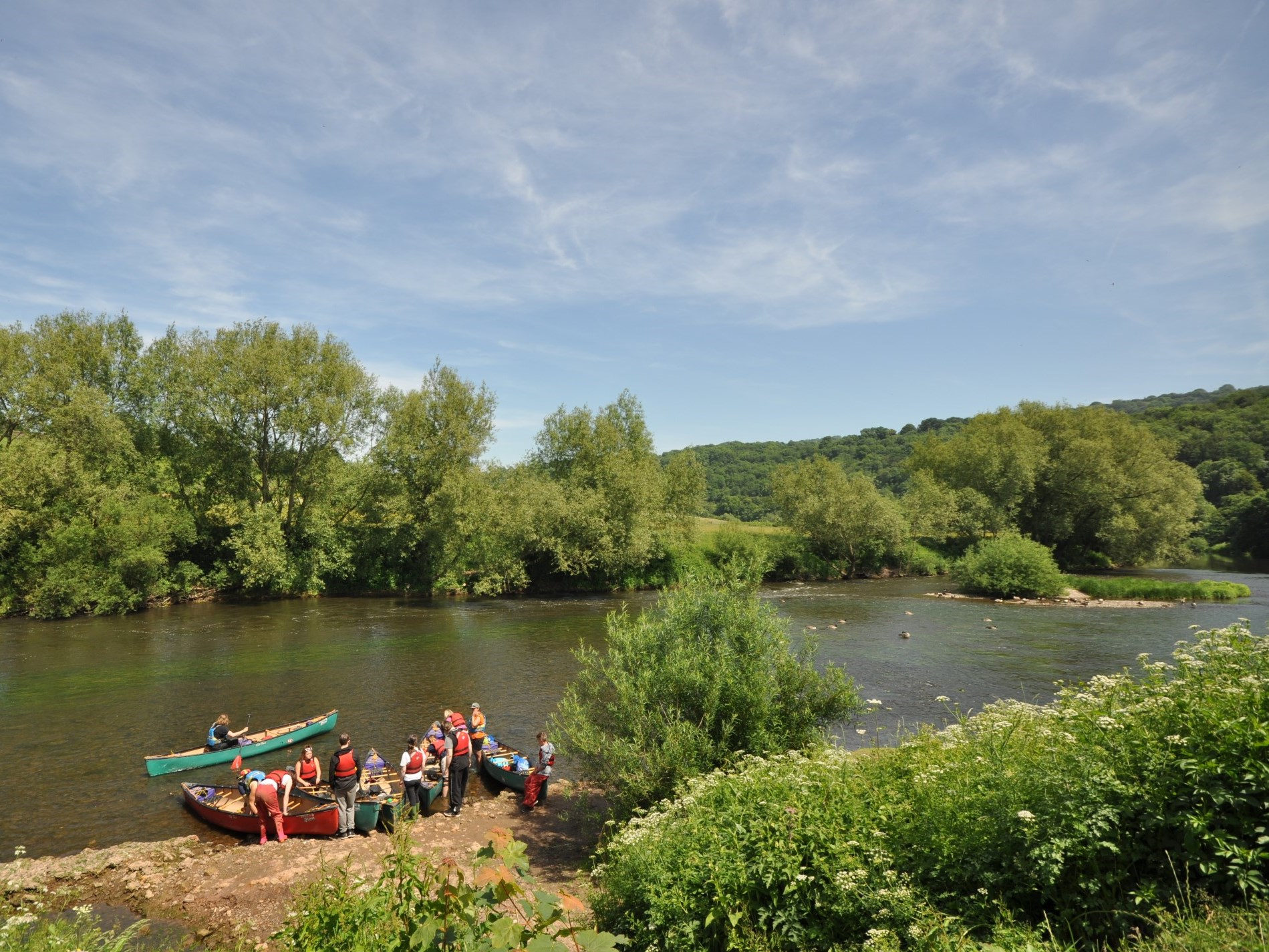 A fun day out on the River Wye