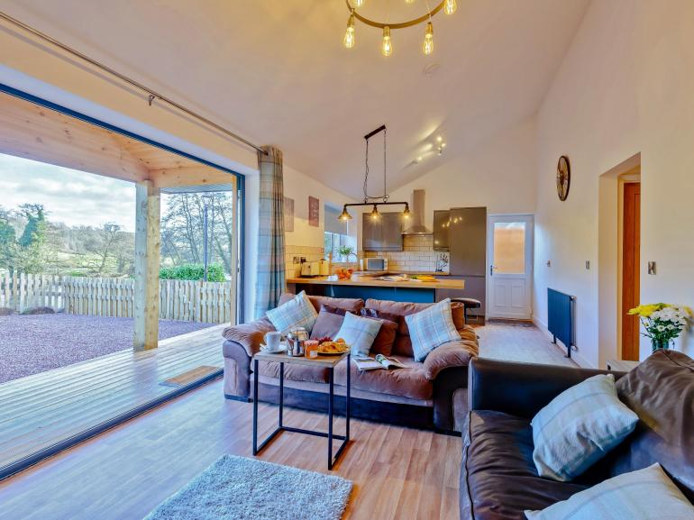 Enjoy open-plan living in style