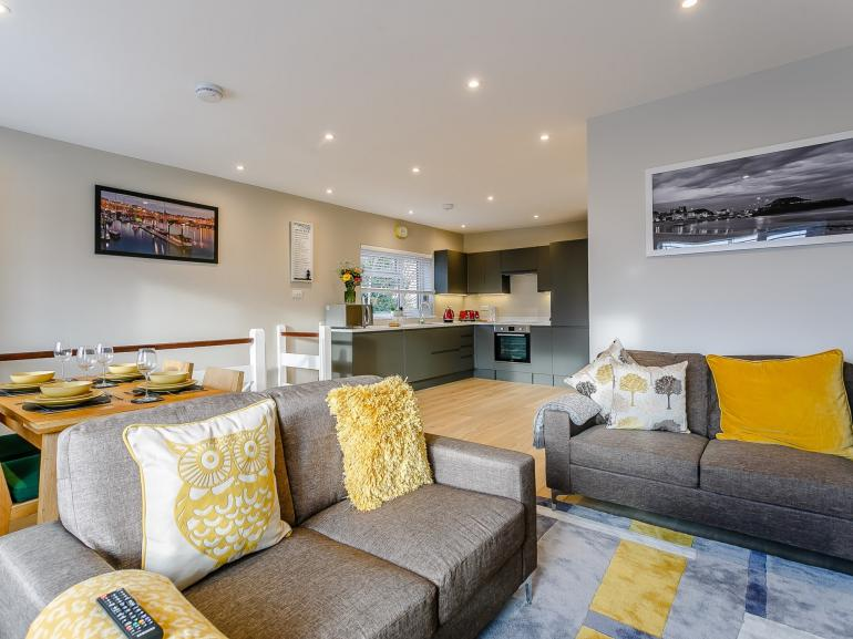 Open-plan living offers room for all the family