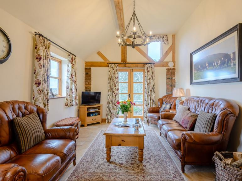 Relax in the lounge on the sofas, watch a film or lose yourself in a good book