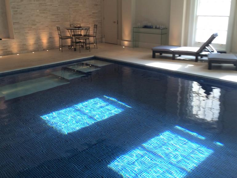 Enjoy shared use of the heated indoor swimming pool