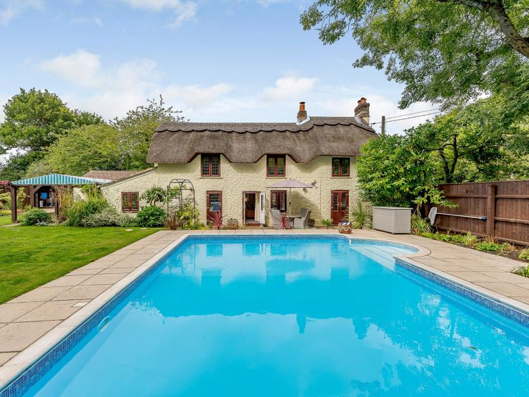 Outdoor heated pool available April to October