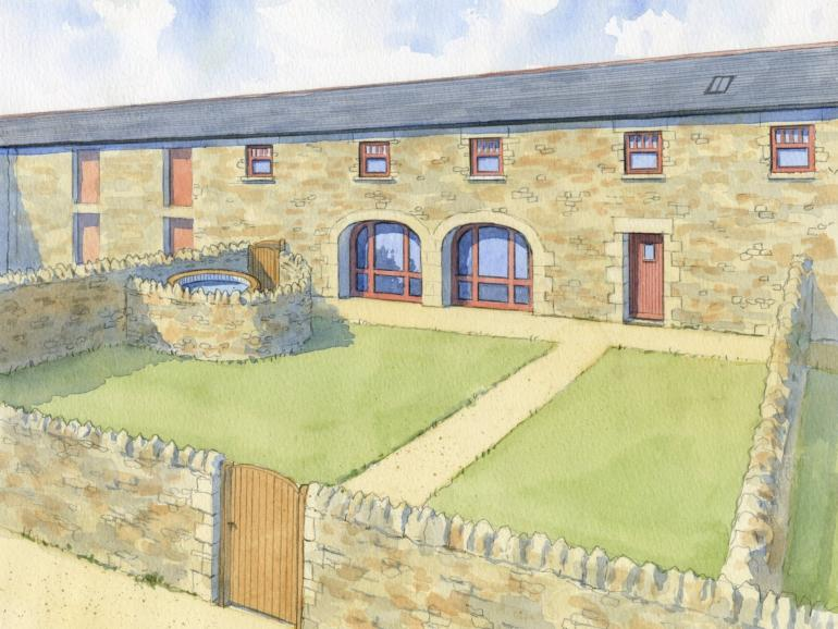 Artist impression of this beautiful property