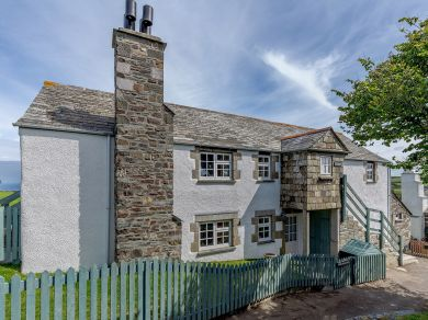 Churchtown Cottage - Sea View (78325)