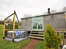 Shepherd Hut 1 At The Burlands