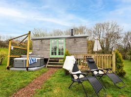 Shepherd Hut 2 At The Burlands