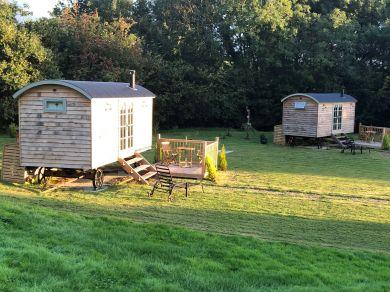 Shepherd Hut 2 At The Burlands (78435)