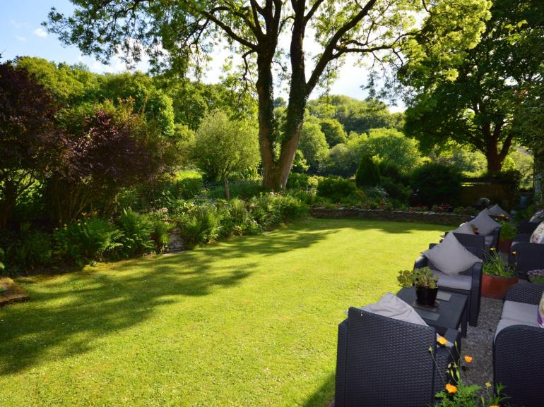 Admire the gardens, perfect for relaxing in