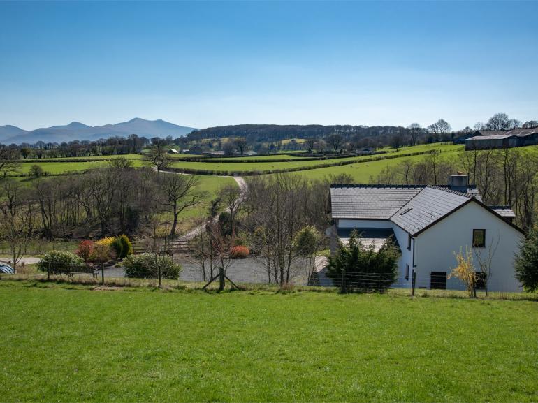 Enjoy the views of the Brecon Beacons