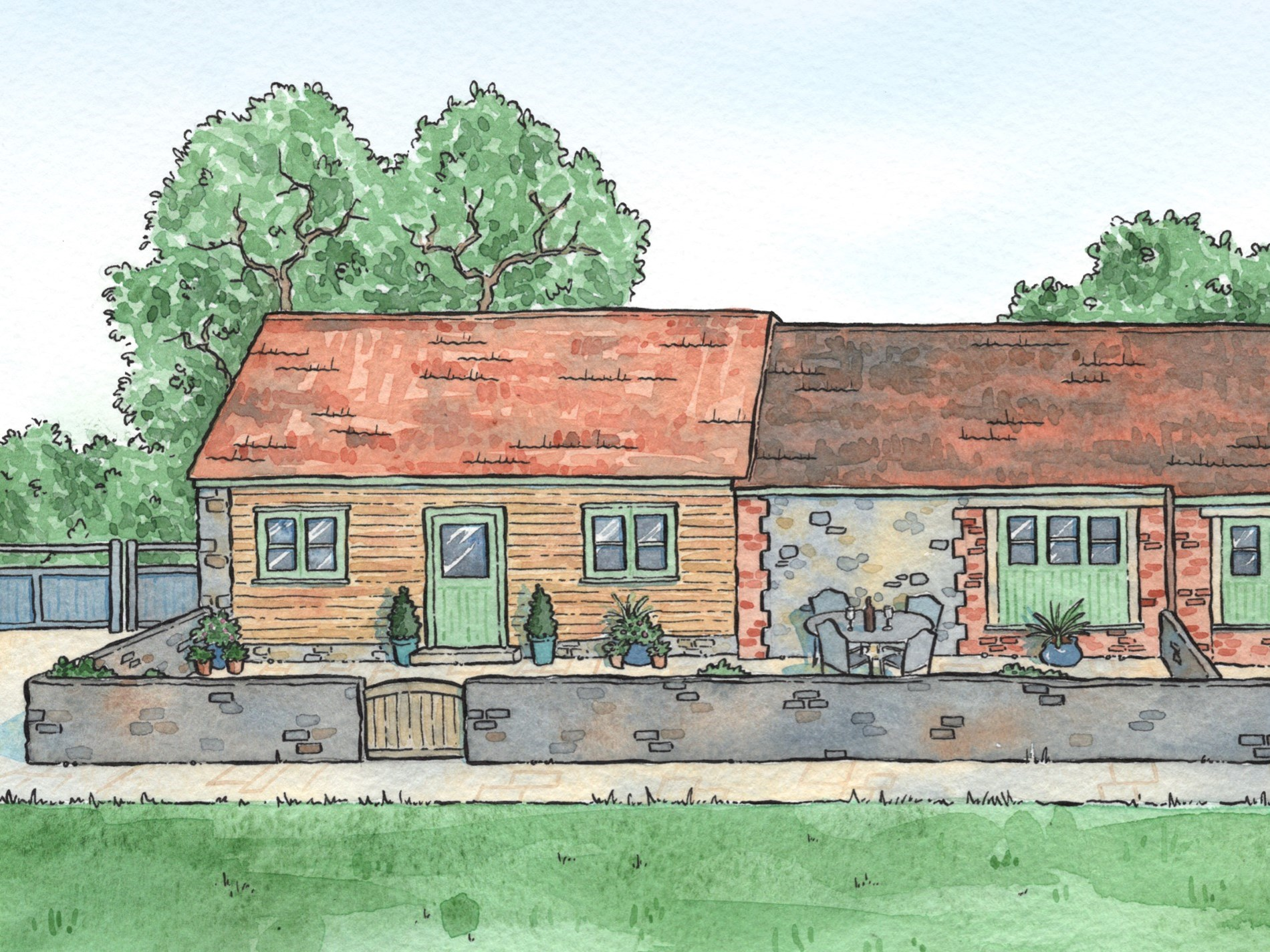 1 Bedroom Cottage in Taunton, Dorset and Somerset