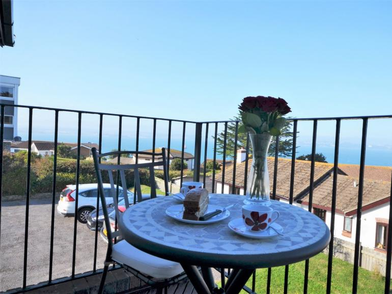 Enjoy the views from your balcony