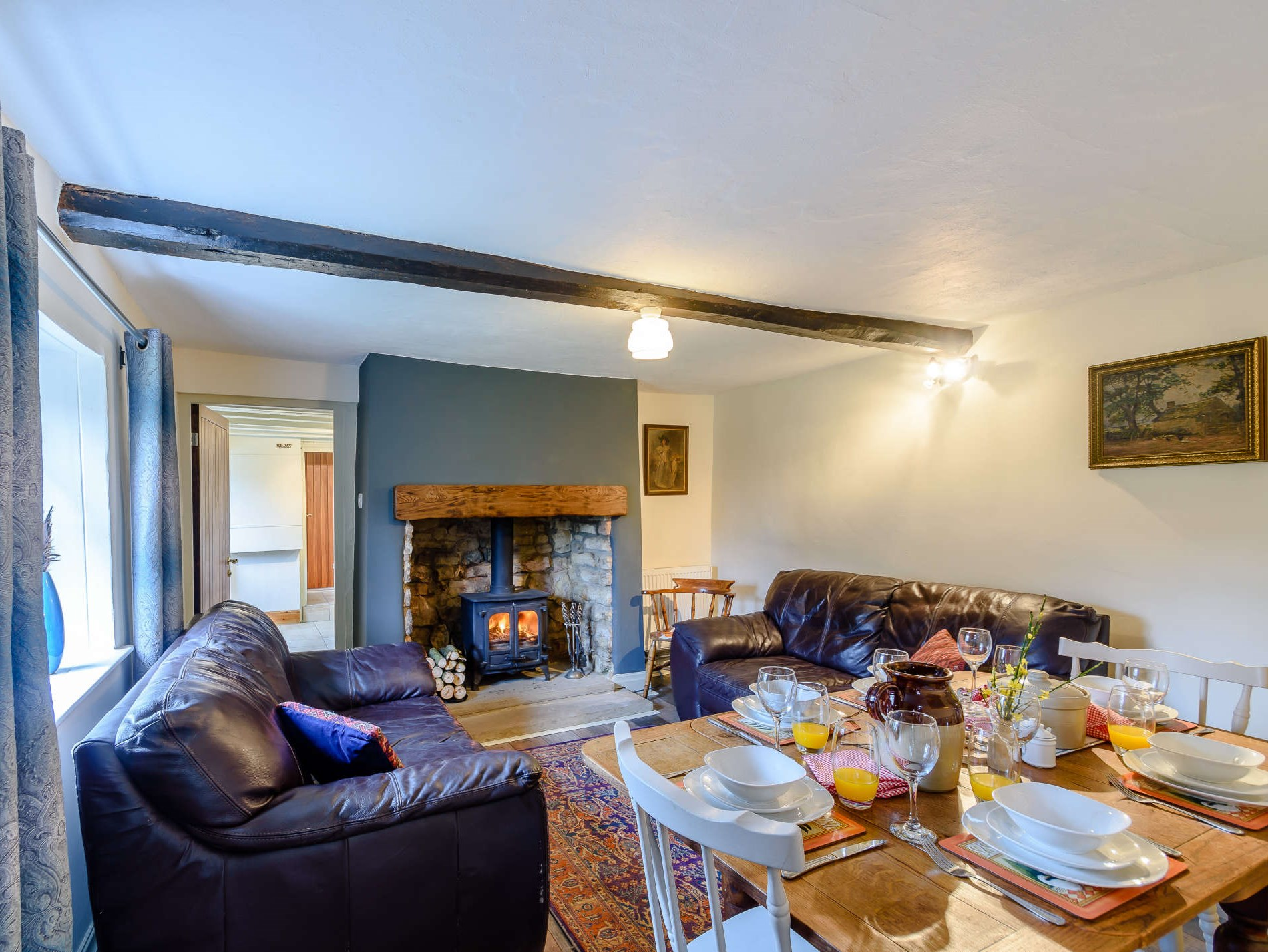 3 Bedroom Barn in North Yorkshire, Tadcaster, Yorkshire Dales