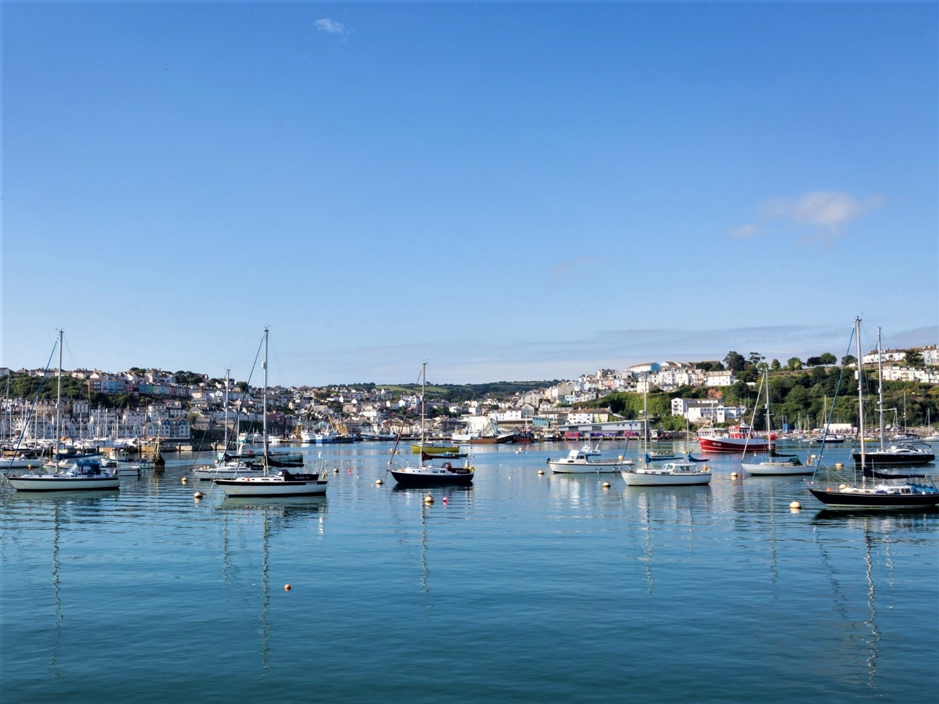 Enjoy exploring the stunning coastal town of Brixham