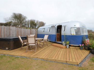 Highlands Air Stream At Woolacombe (82548)