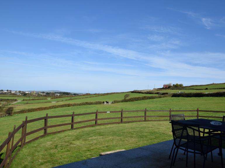 Stunning views to enjoy from the garden of this hidden gem