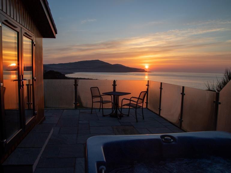 Stunning views at sunrise