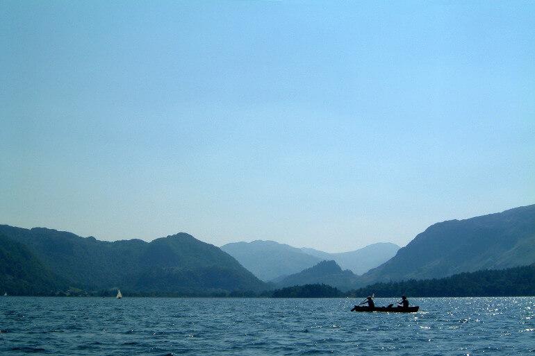 Kayaking lakes