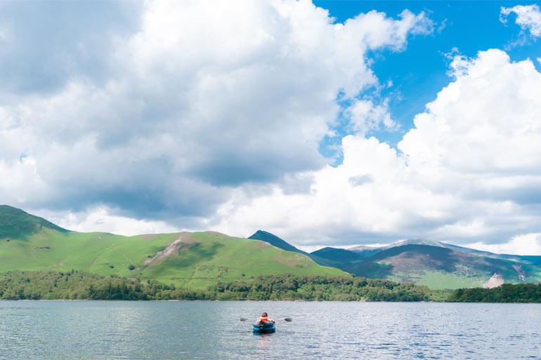 Kayaking the Lake District