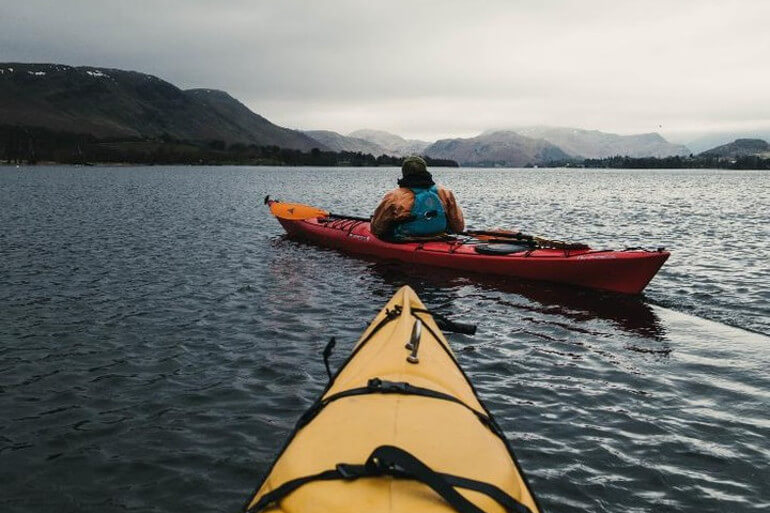 Kayaking on Ullswater