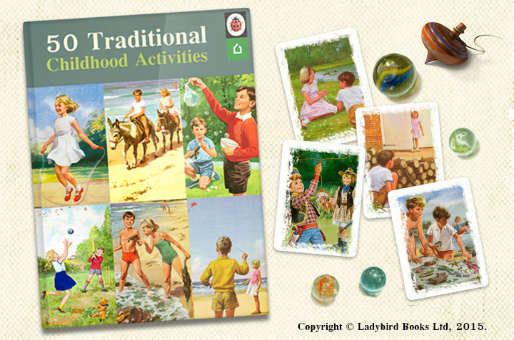 50 traditional games and activities from your childhood