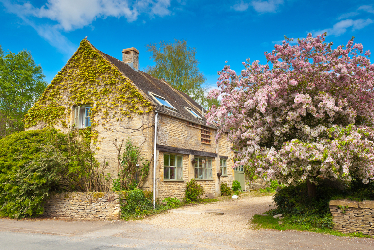 Cotswolds in spring
