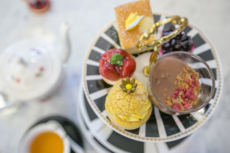 Indulge in an afternoon tea in Suffolk