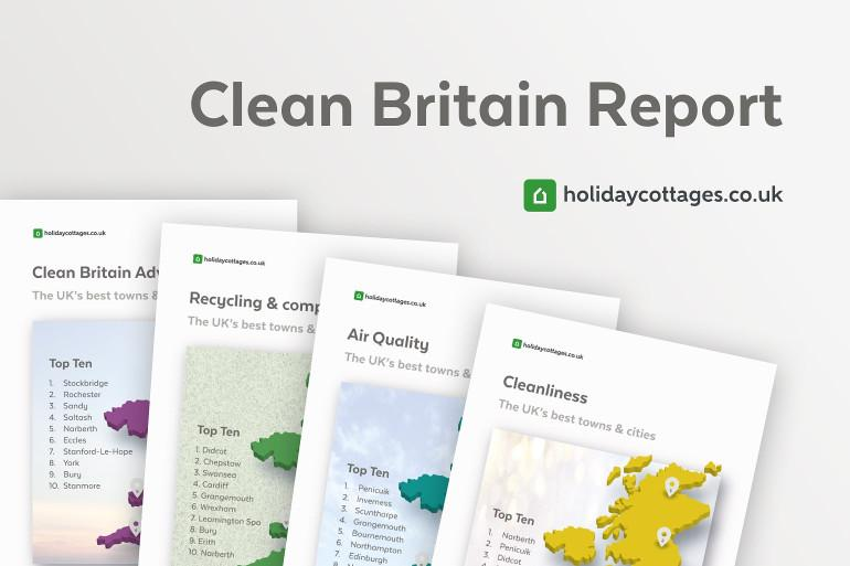 Clean Britain Report by holidaycottages.co.uk